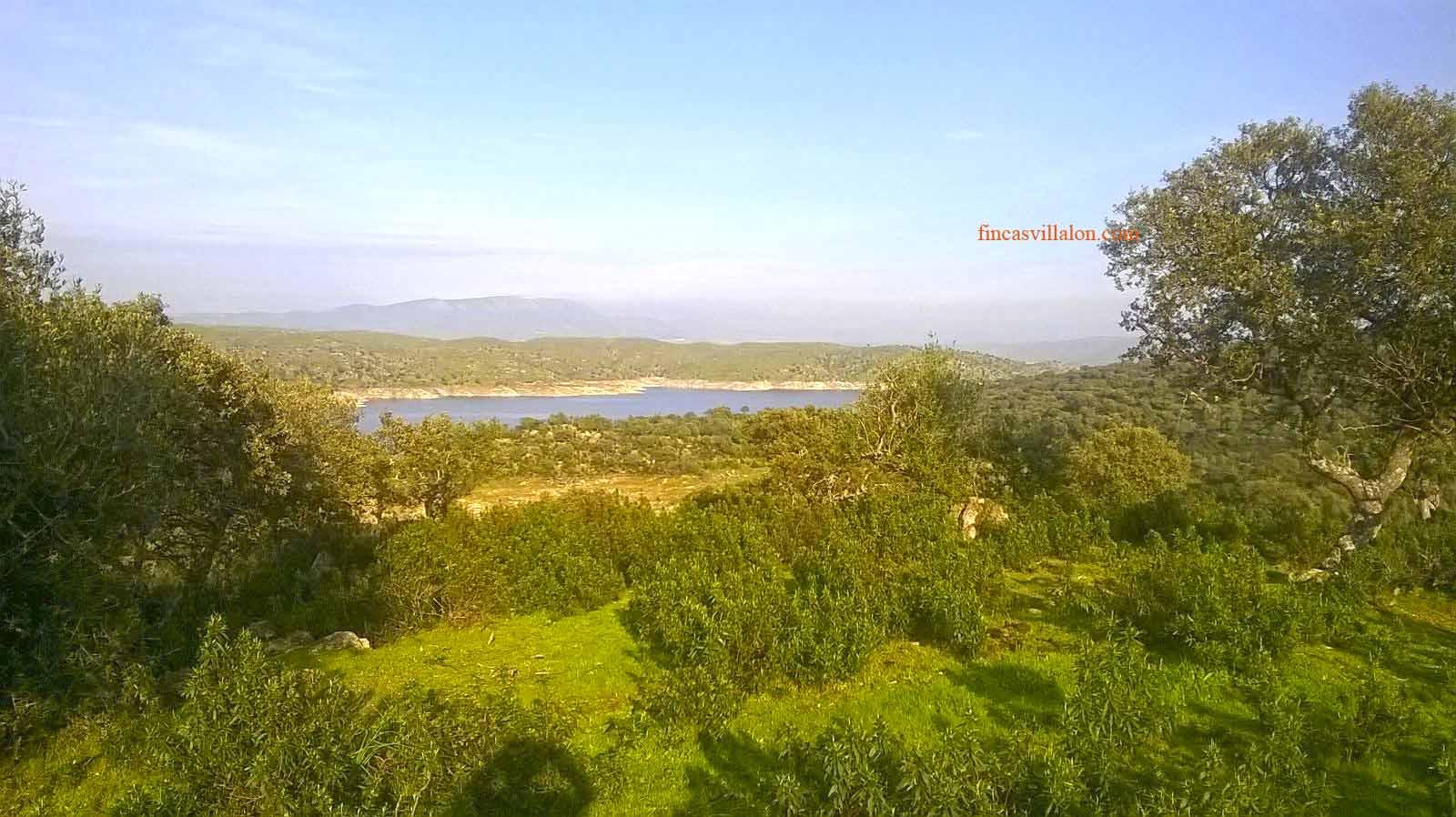 vistas al rio desde la finca